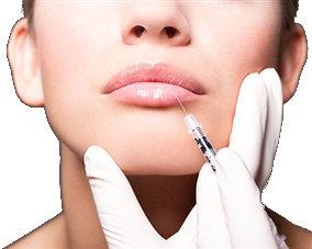 Infiltracion de hialuronato en los labios