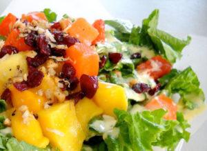 receta de ensalada con linaza molida