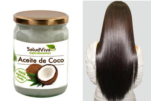 aceite de coco como acondicionador