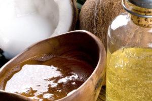 aceite de coco para el pelo