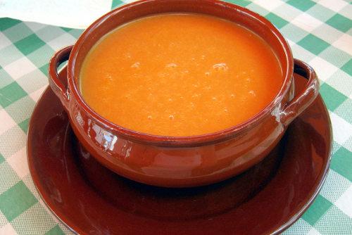 gazpacho andaluz para adelgazar