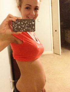 barriga 5 semanas