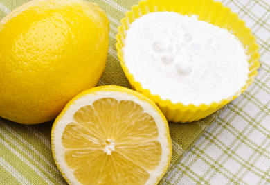 para que sirve el bicarbonato de sodio y limon