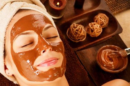 chocolate para el cabello y la cara