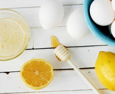 huevo y limon para la cara y el cabello