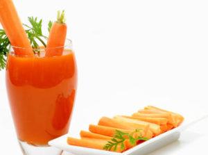 propiedades de la zanahoria para el pelo