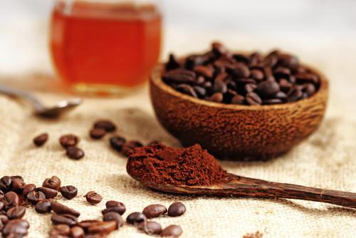 mascarilla cafe miel